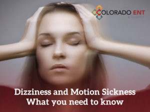 dizziness and motion sickness - what you need to know