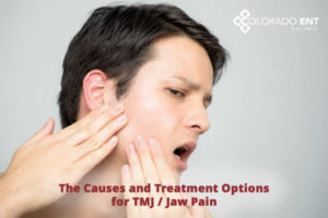causes and treatment options for TMJ or jaw pain