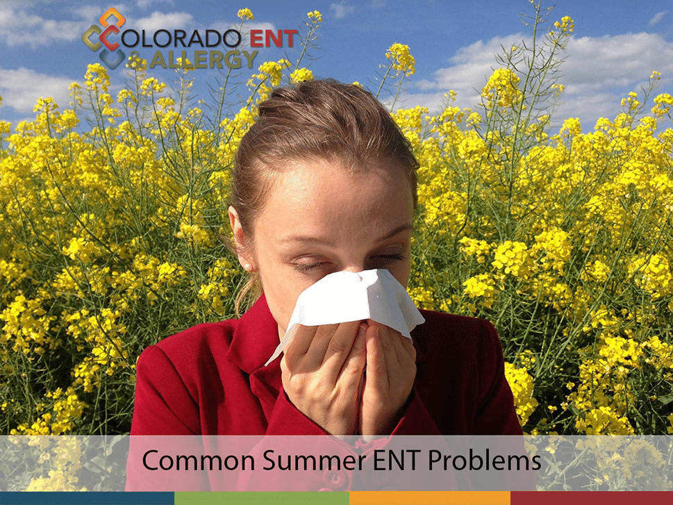 common summer ent problems small